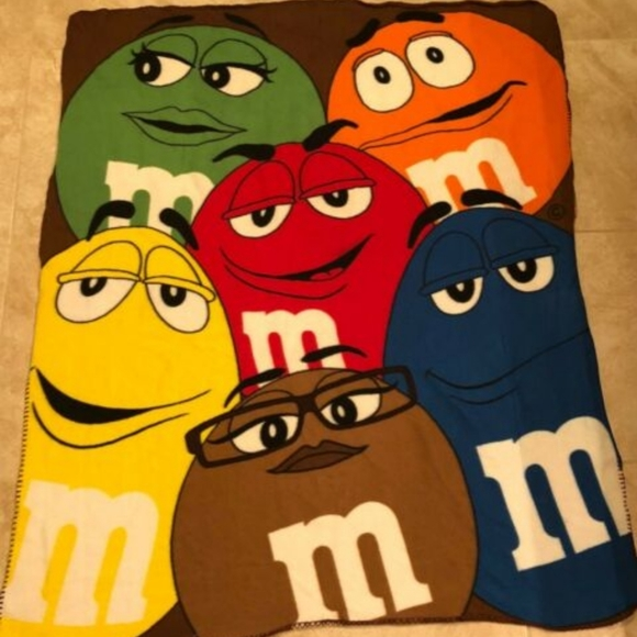 M&M Fleece Blanket